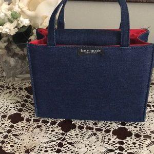 Kate Spade Denim Handbag